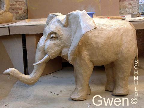 Скульптура из папье-маше своими руками фото 48